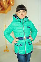 Куртка демисезонная для девочки  «Змейки», Разные цвета