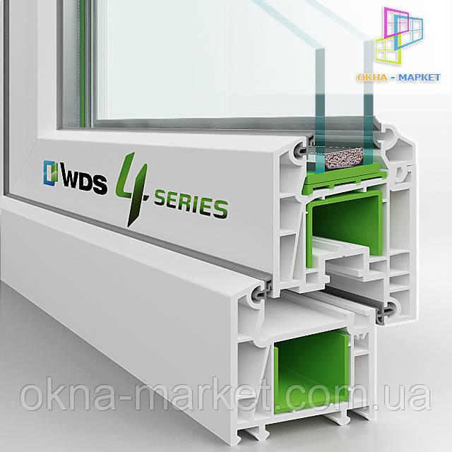 Пластиковые окна WDS 404 Киев (098) 777-31-49