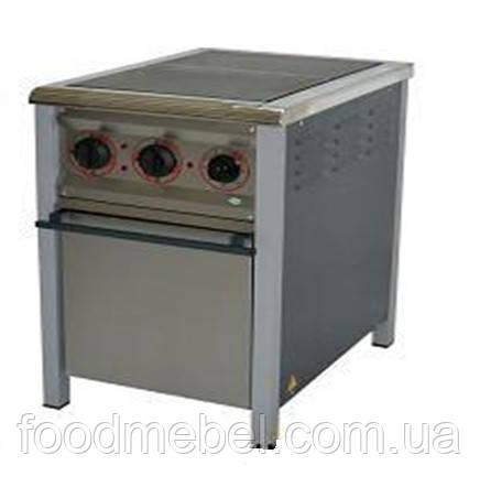 Плита электрическая промышленная 2-х конфорочная ПЕ-2Ш Н
