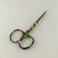 Ножницы маникюрные SPL9117 изогнутые.