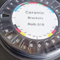 Брекеты керамические РОТ 022, 20 шт