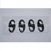 Карабин двухсторонний 5см (4 шт) Black