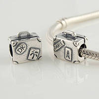 Шарм Pandora Туристический Чемоданчик, пандора серебро