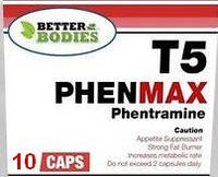 T5 PhenMax PHENTRAMIN. Пробник 10 капсул.