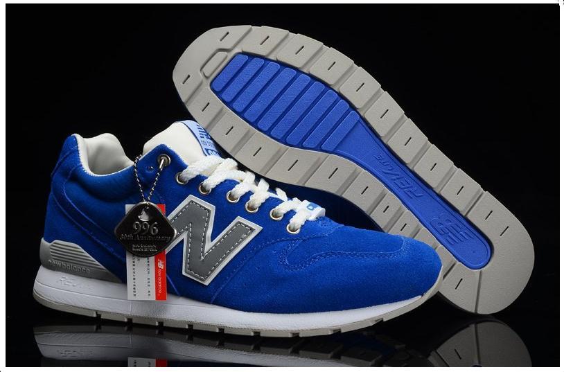Кроссовки мужские New Balance 996 Blue (в стиле нью бэлэнс) синие ... 39a5ff273cf