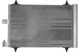 Радиатор кондиционера Peugeot 407 2004- (515*365мм по сотах) KEMP