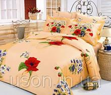 Комплект постельного белья  le vele сатин размер евро DAISY