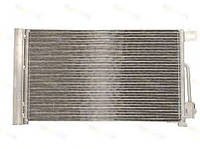 Радиатор кондиционера Peugeot Bipper Opel Corsa Citroen Nemo (570*353мм по сотах)