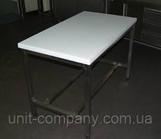 Стол разделочный с полипропиленовой столешницей 1450х700х850