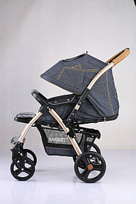 Детская прогулочная коляска Baciuzzi B20 gold jeans