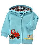 Детская кофта для мальчика  6-12, 12-18 месяцев