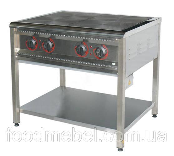 Плита промышленная электрическая 4-конфорочная ПЕ-4 Н