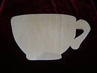 Заготовка из фанеры чашка