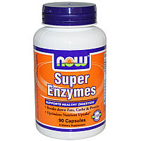NOW Супер Энзимы Super Enzymes (90 caps)