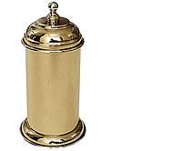 Золотая настольная баночка для ватных дисков Paccini&Saccardi Oggeti Appoggio 30036