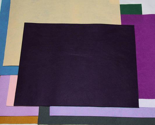 Фетр жесткий баклажан (40х50см, 1мм), фото 2