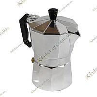 Гейзерна кавоварка «Moka» - 3 порції, фото 1