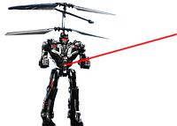 Радиоуправляемый робот-трансформер. Летающий робот Transformers