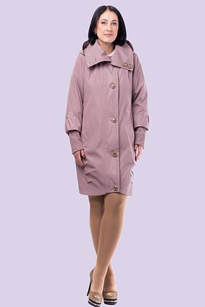 Демисезонная женская куртка с  креативным кроем Разные цвета