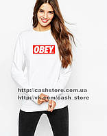 Женский свитшот / Толстовка Obey