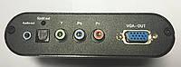 2-0253. Конвертор HDMI в VGA+ RGB (гн.HDMI- гн.VGA+ 3гн.RCA)