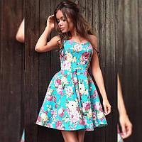 Модное молодёжное летнее платье