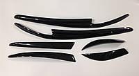 Реснички для фар Mitsubishi Lancer X комплект передние и задние