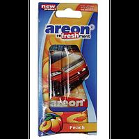 Ароматизатор на зеркало жидкий гель AREON VIP АВТО Peach