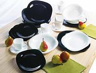 Столовый набор посуды Carine White&Black 18 приборов