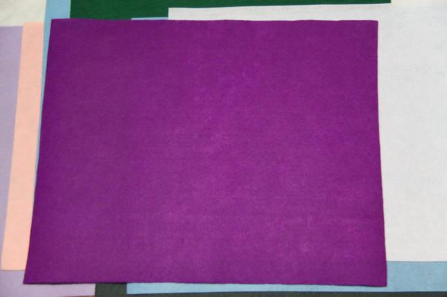 Фетр жесткий сиреневый (40х50см, 1мм), фото 2