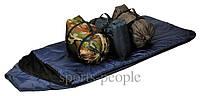 Спальный мешок/спальник Лето, (extr:0; comf.:+14; max:+25), без капюшона, разн. цвета