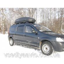 Бокс на крышу на 480 л (правостороннее открывание) (Desna-Auto, Украина)