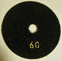 """Алмазный диск """"Черепашки"""" для полировки кварца, мрамора Premium 100x4x15 (Все зерна № 30-3000) 60"""