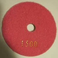 """Алмазный диск """"Черепашки"""" для полировки кварца, мрамора Premium 100x4x15 (Все зерна № 30-3000) 1500"""
