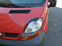 Реснички на фары Opel Vivaro тип1