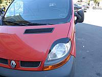 Реснички на фары Opel Vivaro тип2