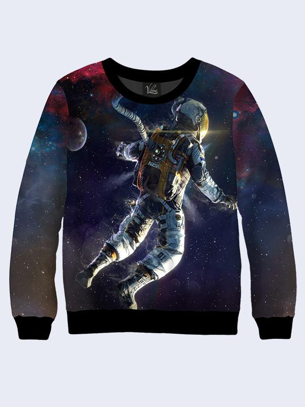 Свитшот Человек в Космосе
