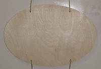 Панно - овал (20 х 30 см), декор