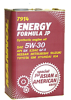 Синтетическое масло MANNOL ENERGY FORMULA JP 5W-30 4L металлическая канистра