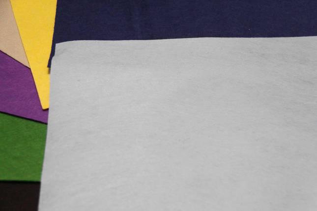 Фетр жесткий белый (40х50см, 1мм), фото 2