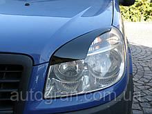 Вії на фари Fiat Doblo тип1