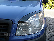 Вії на фари Fiat Doblo тип2
