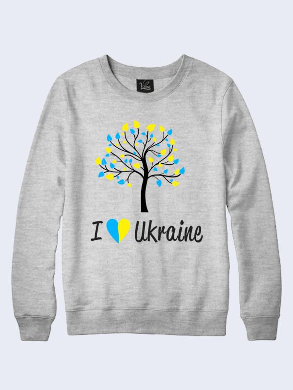 Свитшот Я люблю Украину