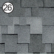 Битумная черепица Roofshield Premium Модерн серый с оттенком