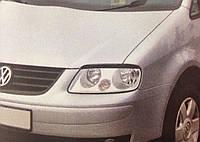 Реснички на фары Volkswagen Caddy 2004- тип1, фото 1