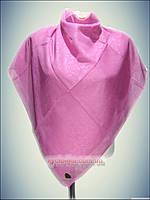 Натуральный платок класик розовый, турецкий принт