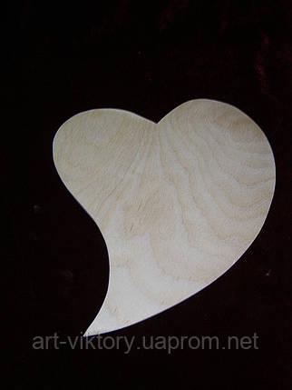 Заготовка сердце-капелька, фото 2