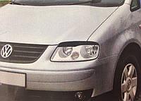 Реснички на фары Volkswagen Caddy 2004- тип2, фото 1