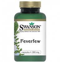 Пиретрум девичий (Feverfew), 380 мг 100 капсул