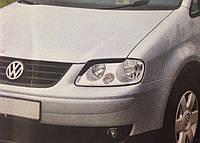 Реснички на фары Volkswagen Caddy 2004- тип3